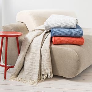 Wohndecken for Bett und tuch
